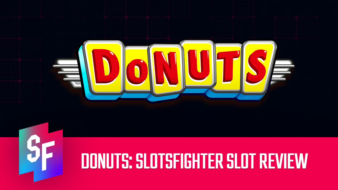 donuts slot review header image