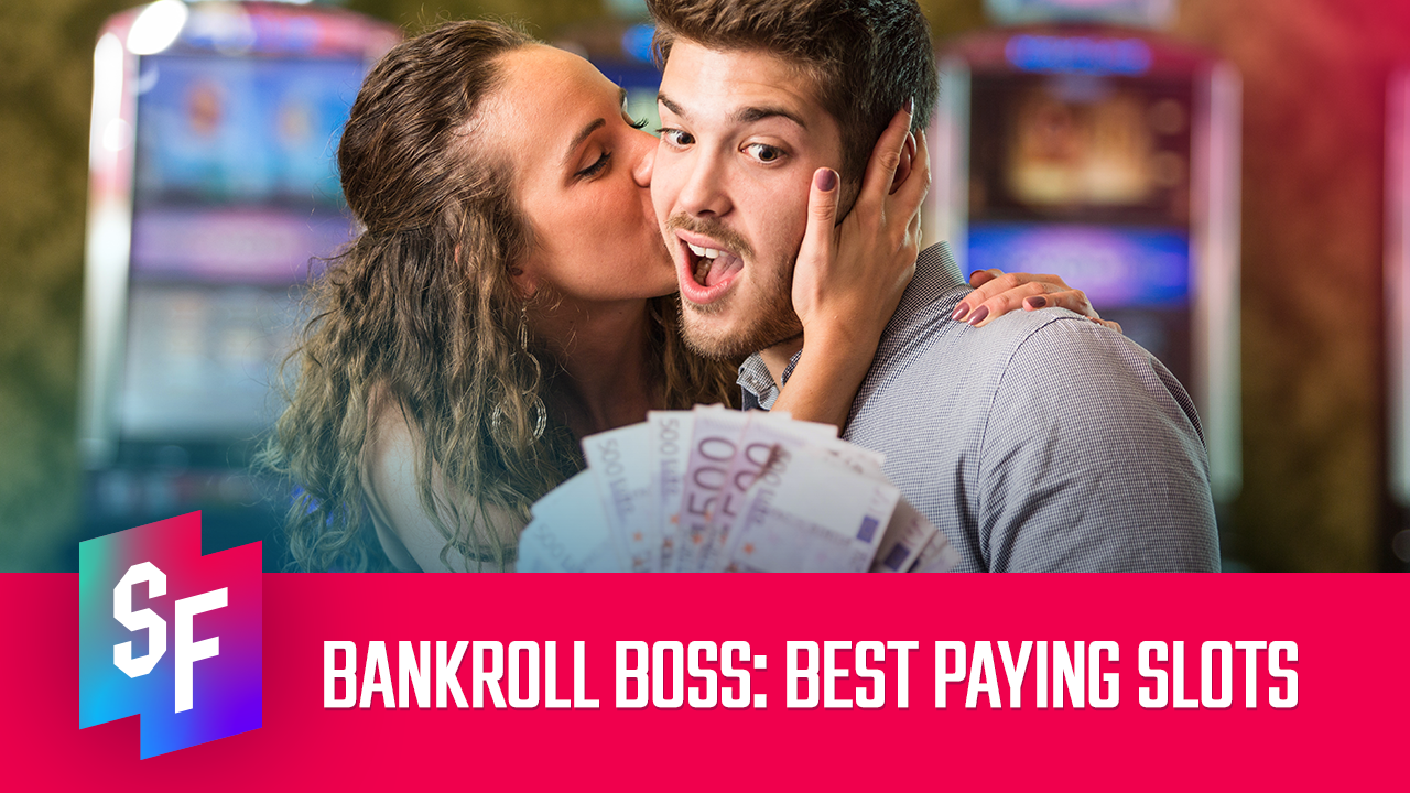 man happy about best paying slots