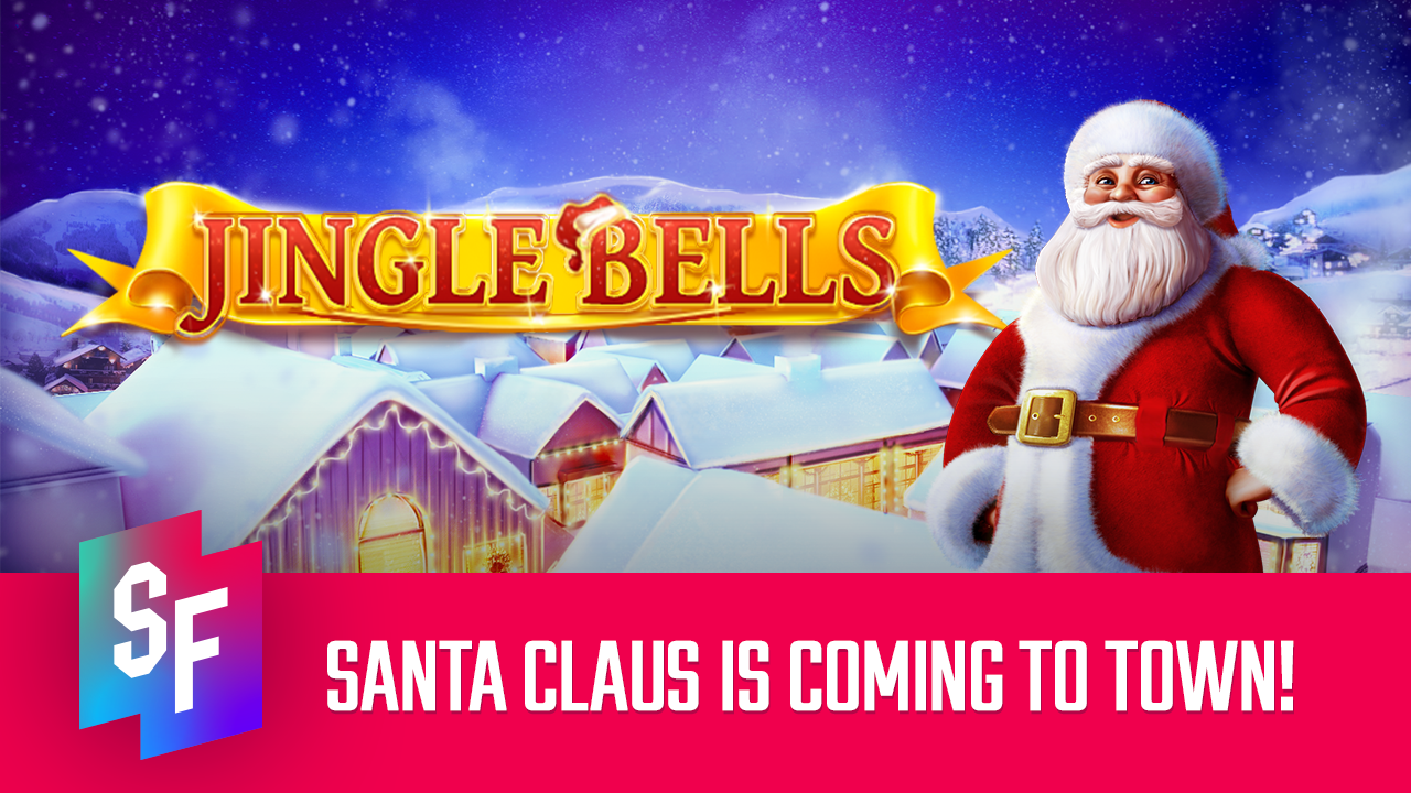 jingle bells slot review header