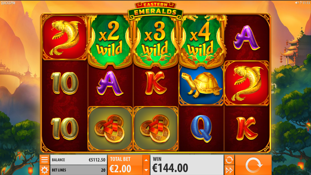best paying slots eastern emeralds