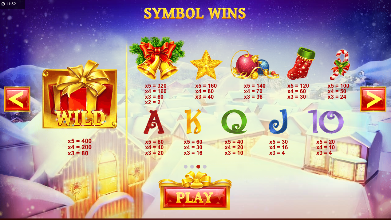 jingle bells slot review symbols
