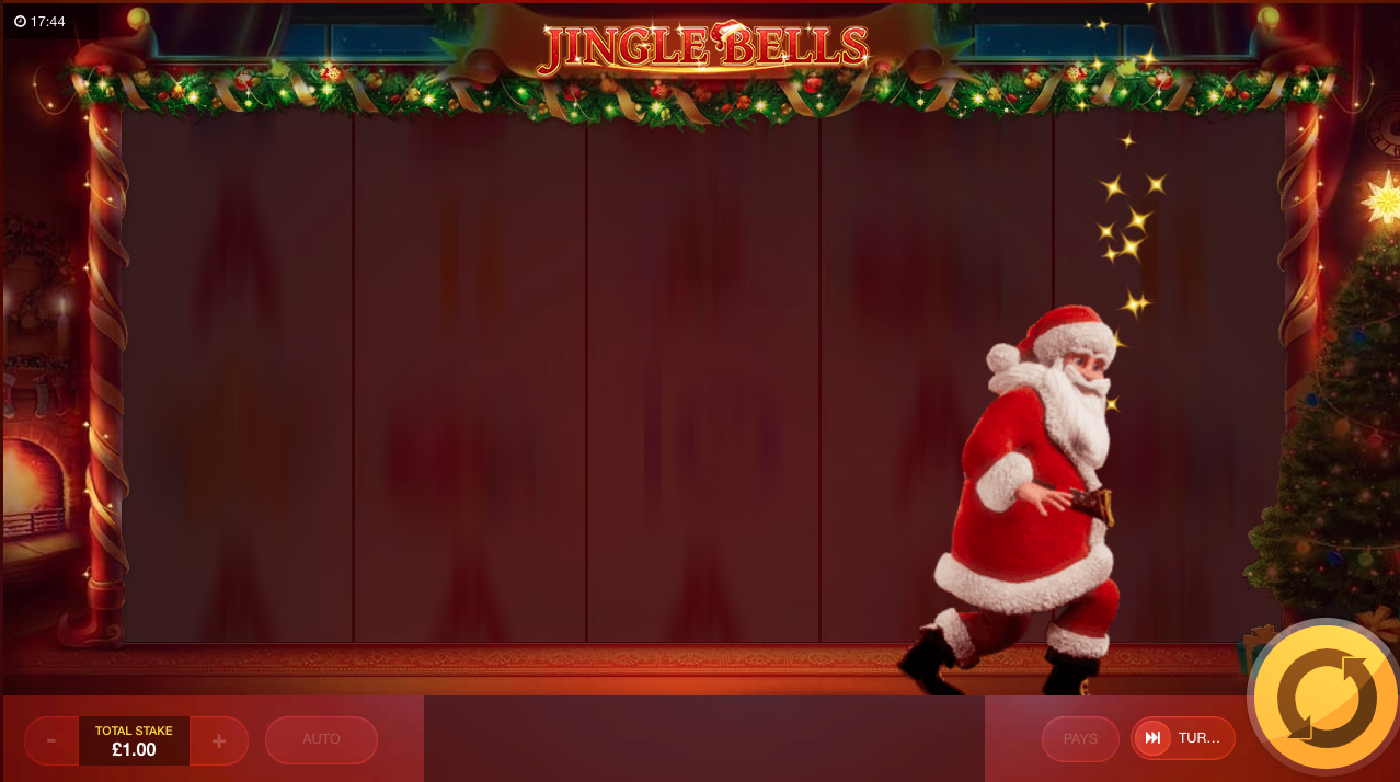 jingle bells slot review base game feature