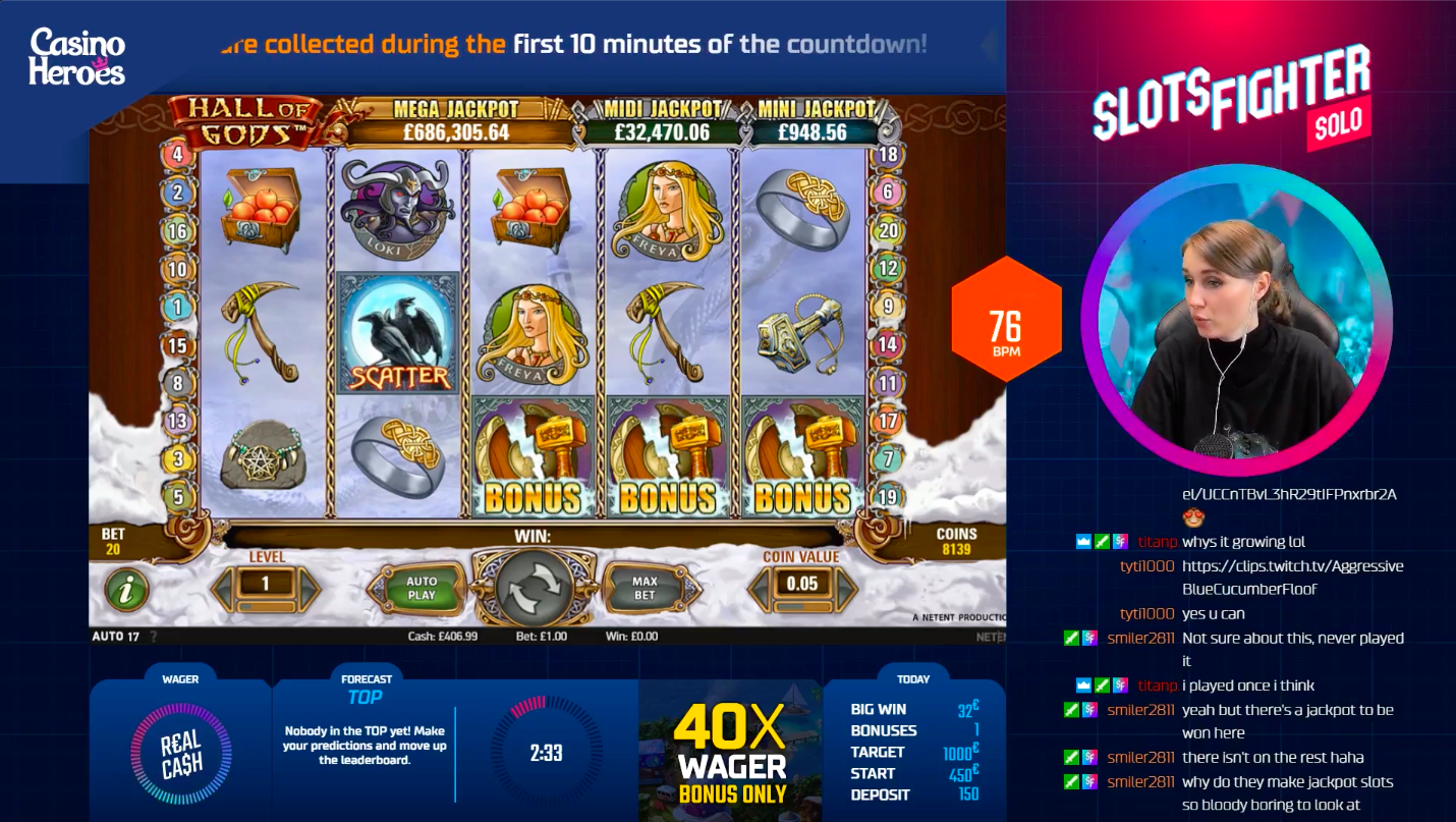Best Jackpot Slots Hall Of Gods