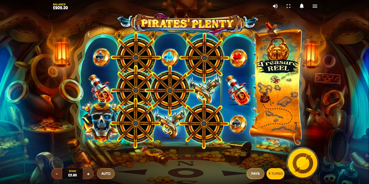 Pirates Plenty Slot Review Treasure