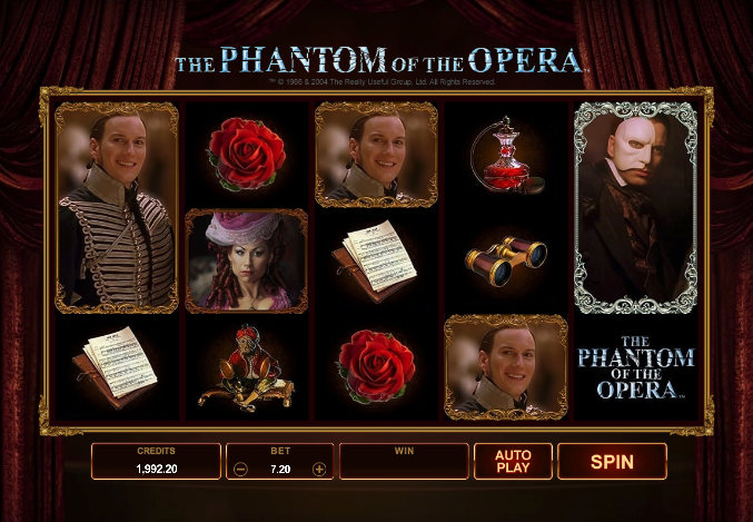 best movie slots phantom of the opera