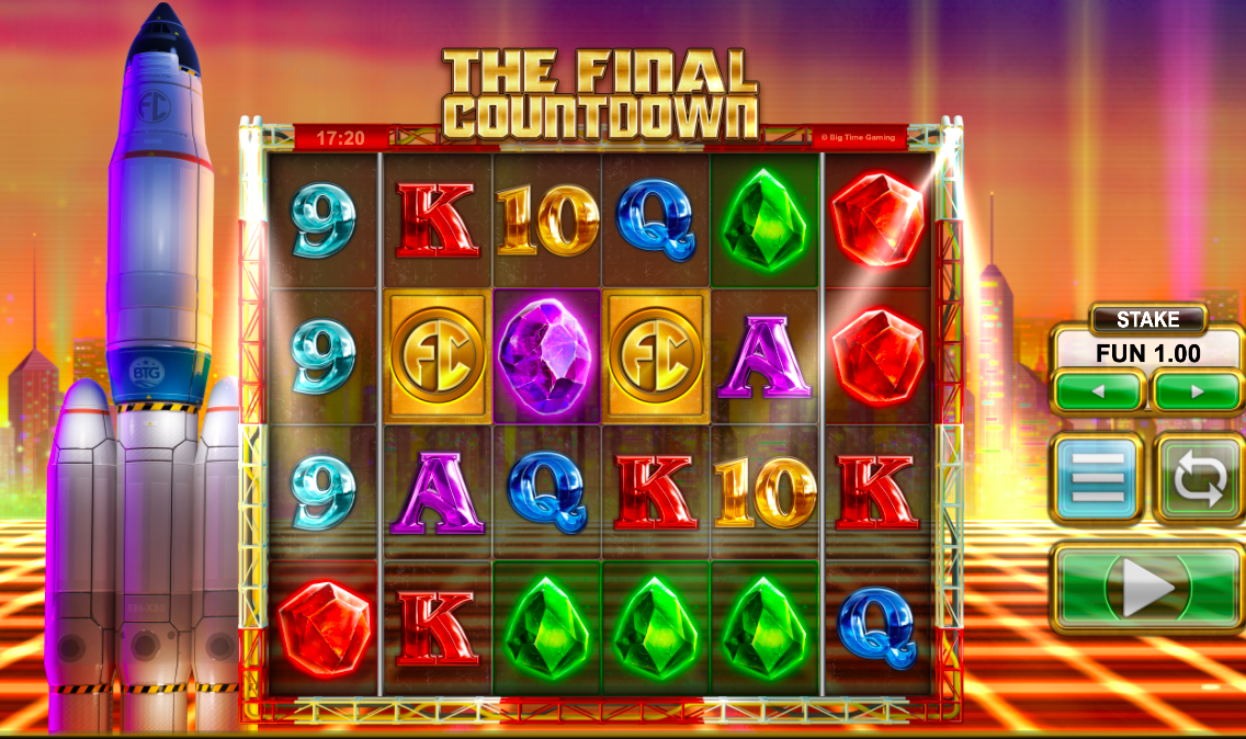 The Final Countdown Slot Base Game