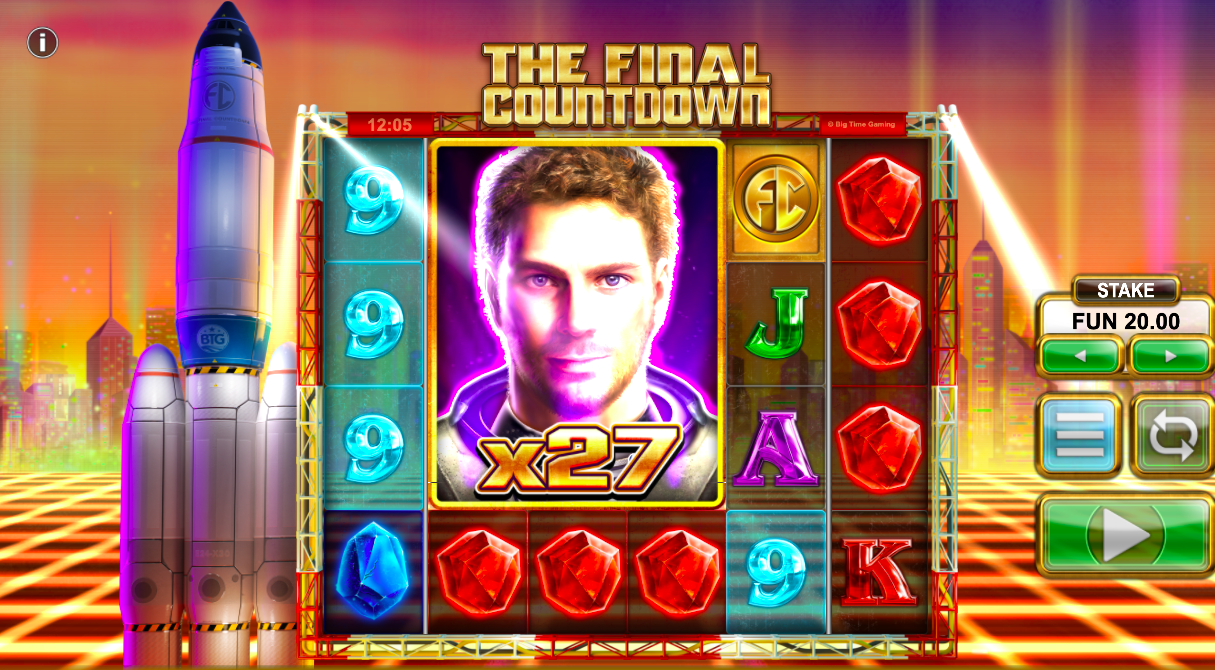 The Final Countdown Slot Clone Wild