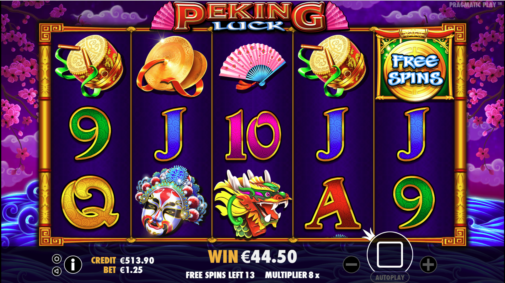 pragmatic play slots peking luck