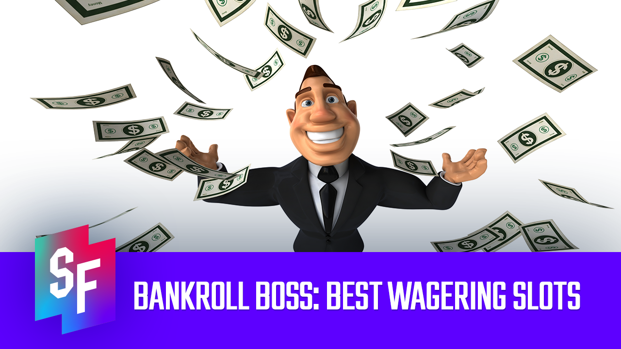 best wagering slots image man happy