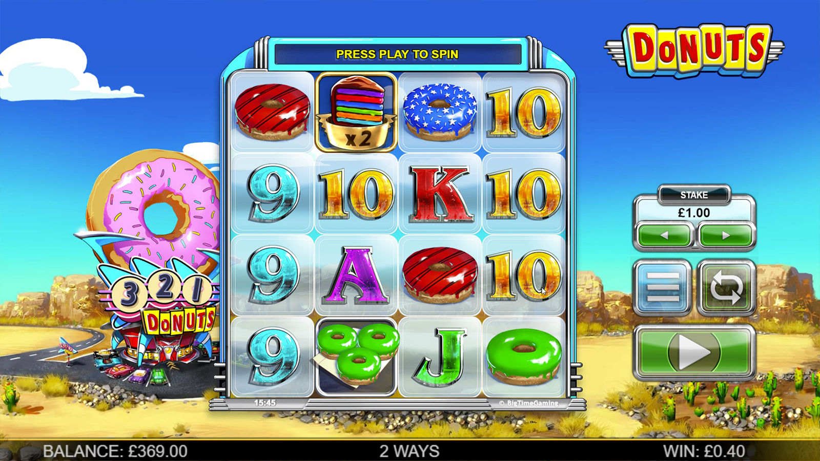 donuts slot base game