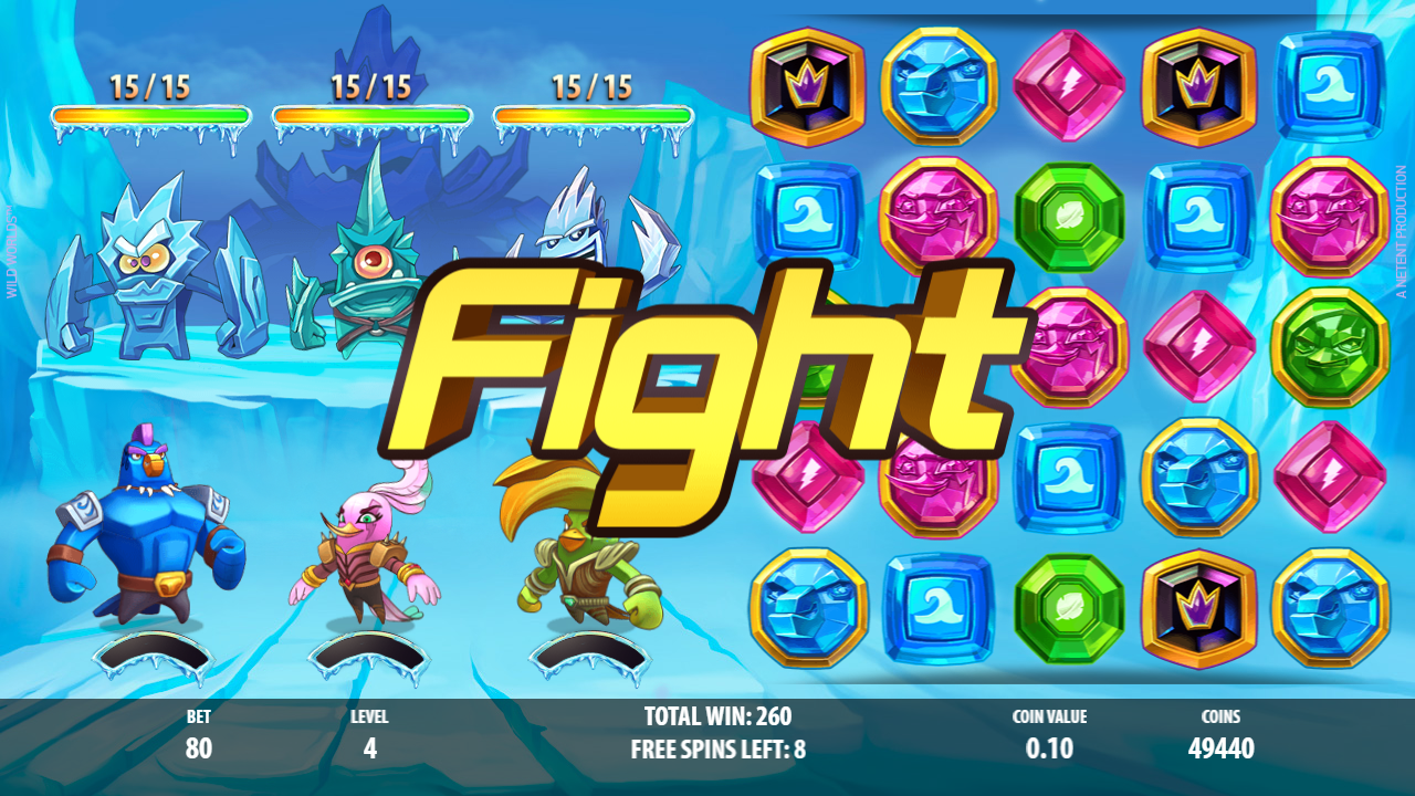 Wild Worlds Slot Review Captains