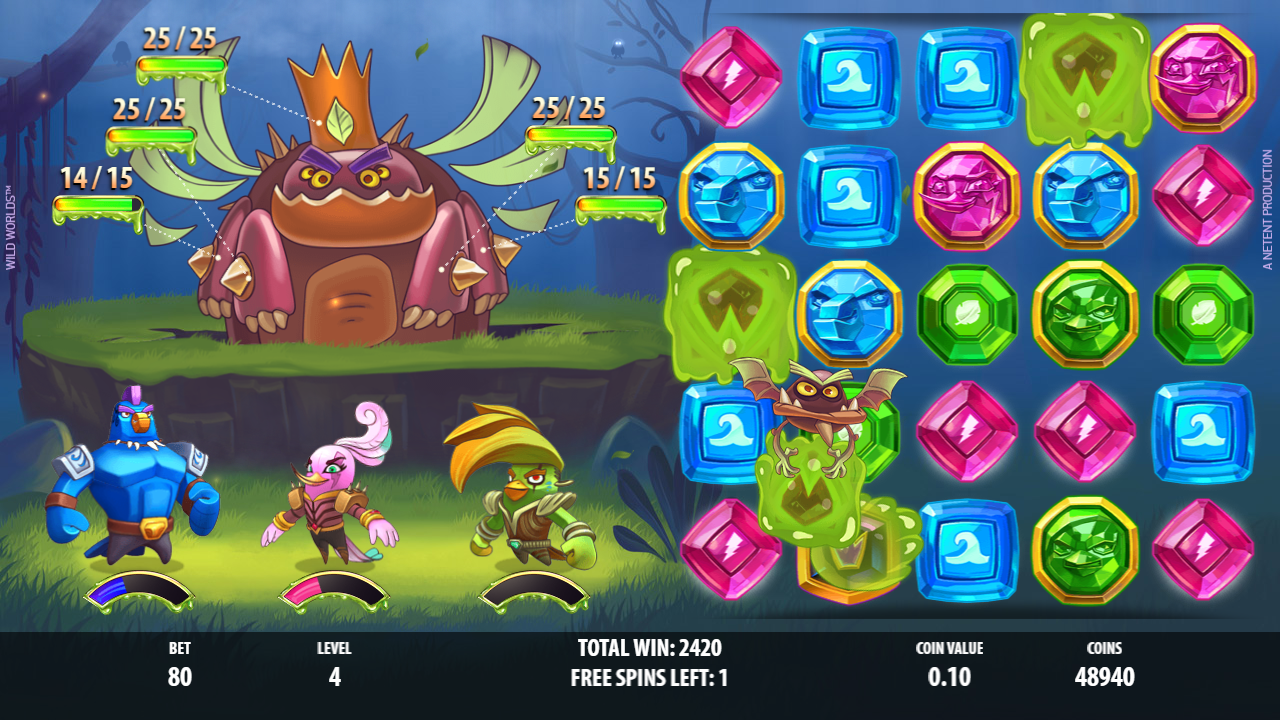 Wild Worlds Slot Review Boss