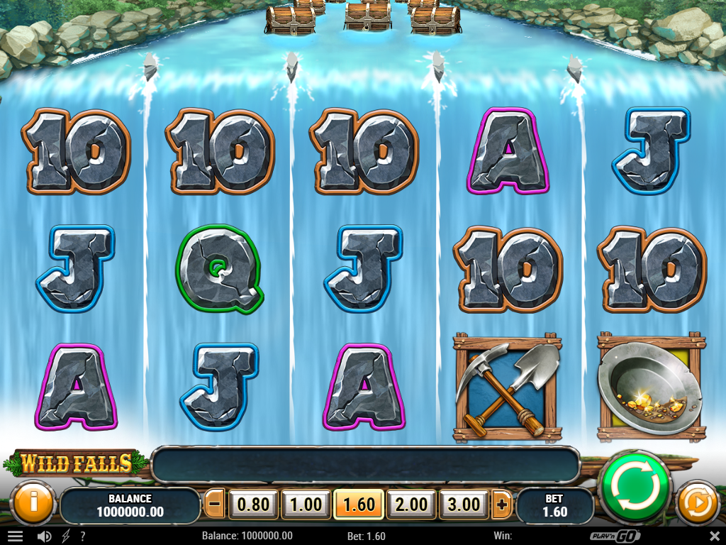 Wild Falls Slot Review Base