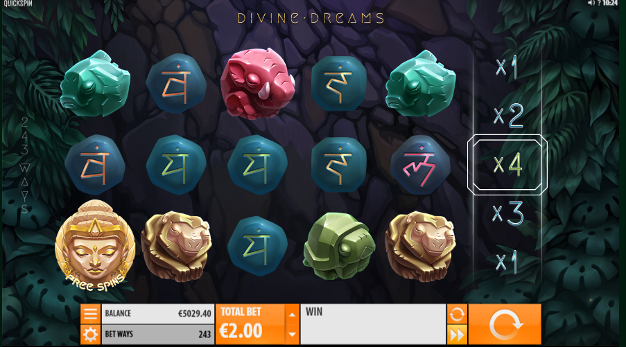 Divine Dreams Slot Review Bonus Reel
