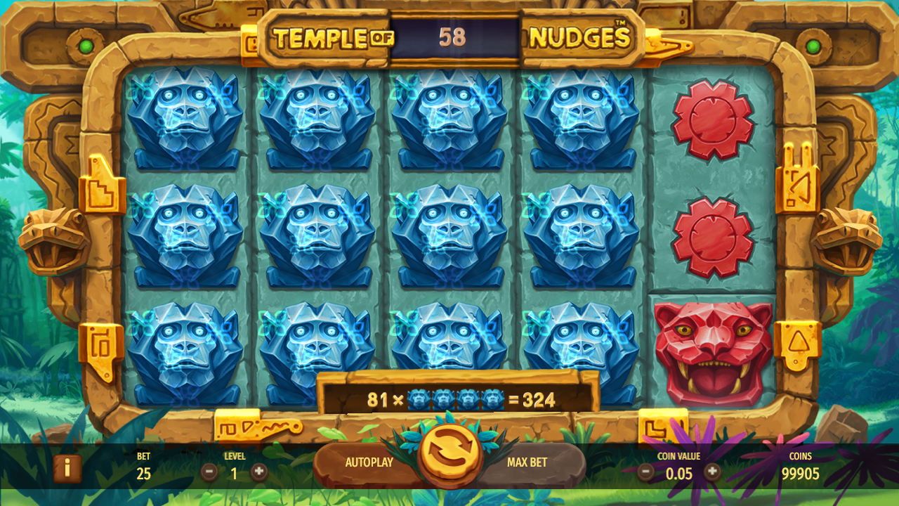 Temple of Nudges Slot Review Game