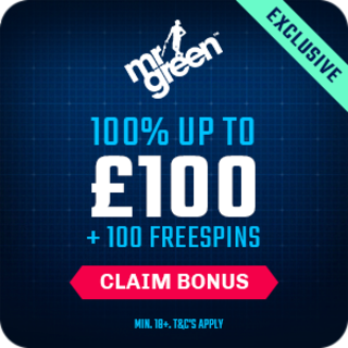 online slots tips example with a mr green exclusive bonus