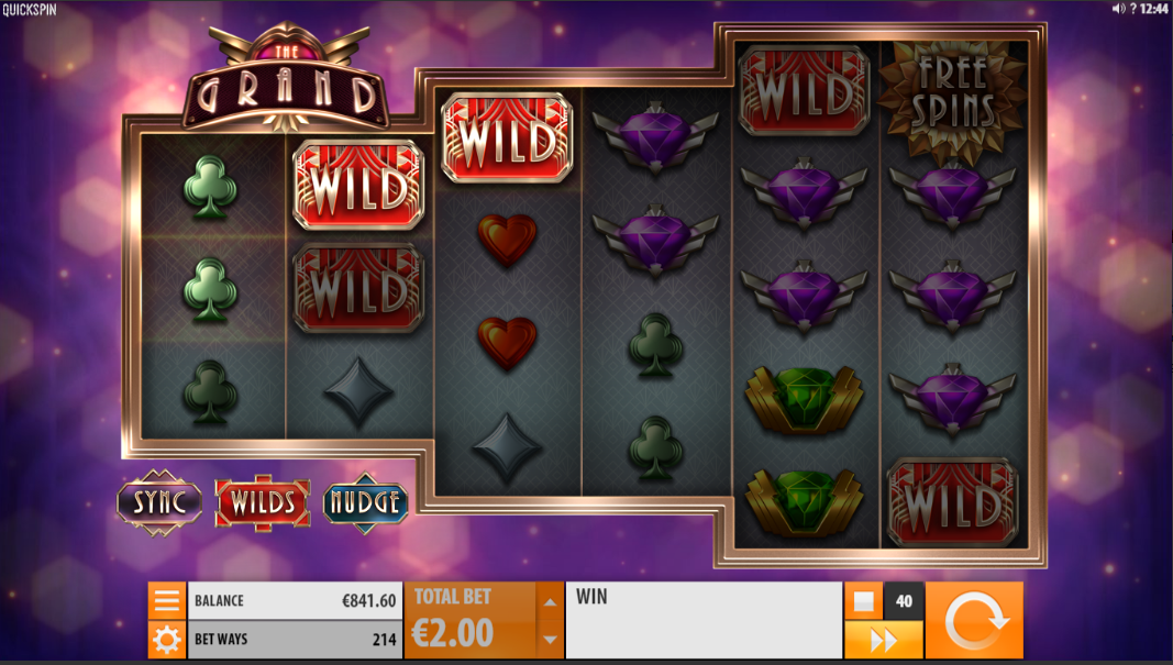 The Grand Slot Review Wilds
